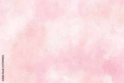 Canvas Print pink watercolor wet wash splash background