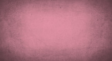 Flamingo Color Background With Grunge Texture