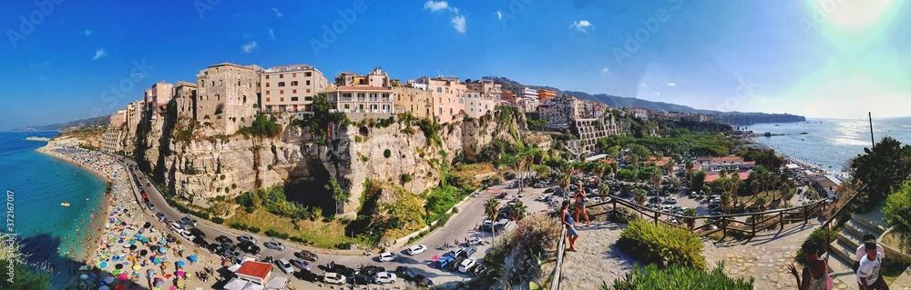 Fototapeta Vista panoramica di Tropea