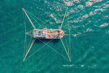 Aerial Photo Of A Big Fisherma...