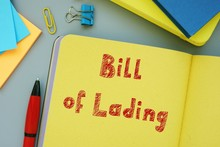 Conceptual Photo About Bill Of...