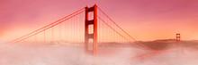 Golden Gate Bridge In The Fog , San Francisco