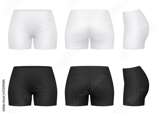 Women's training shorts Fototapete