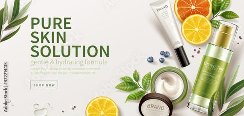 Foto Natural skincare product ad