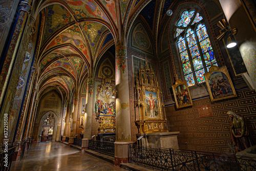 Fototapeta Basilica St Peter and St Paul, Vysehrad Praga