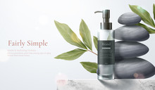 Healthy Beauty Product Ad Template