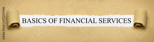 Foto Basics of Financial Services