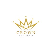 Crown Logo Template Vector Ill...