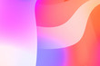 Abstract background with colorful gradient. Vibrant graphic wallpaper with stripes design. Fluid 2D illustration of modern movement.