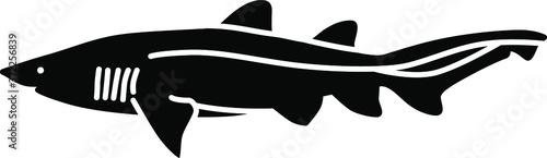 Obraz na plátne An icon illustration of a Nurse Shark