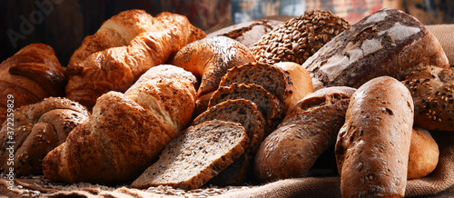 Composition with variety of baking products