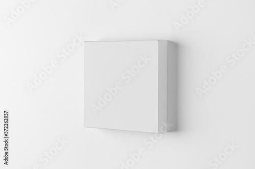 Fotografia, Obraz Wall canvas mockup, square size.