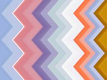 Multicolored Zigzag Backgrou...
