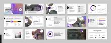 Geometric Purple Presentation ...