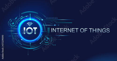Photo Internet of things (IOT) devices and connectivity concepts on a network