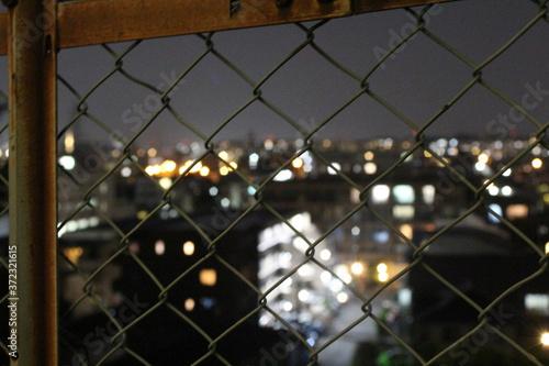 Canvastavla Fence