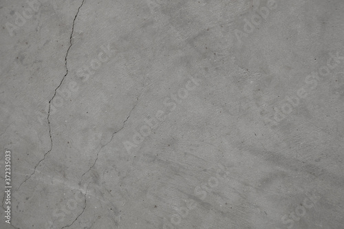 Leinwand Poster Grey cracked concrete