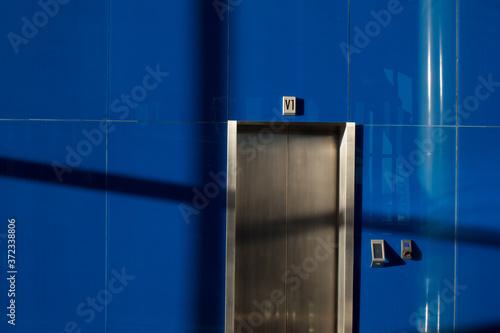 Foto Puerta de elevador
