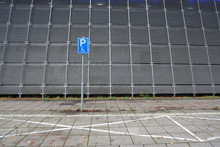 Parking Space For Disabled