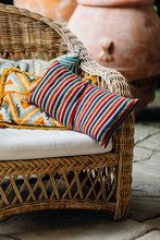 Cushions On Wicker Garden Chair