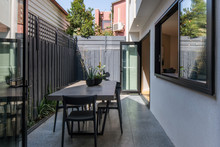 Small Outdoor Terrace In Moder...