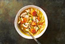 Bowl Of FODMAP Chicken Noodle ...