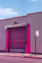 Colorful Pink Industrial Garage