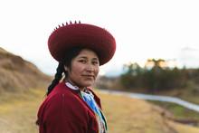 Portrait Peruvian Weaver