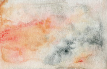 Abstract Watercolor Peachy Texture