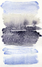 Lavender And Violet Watercolor Texture