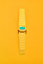 Wristwatch Handcraft From Paper.