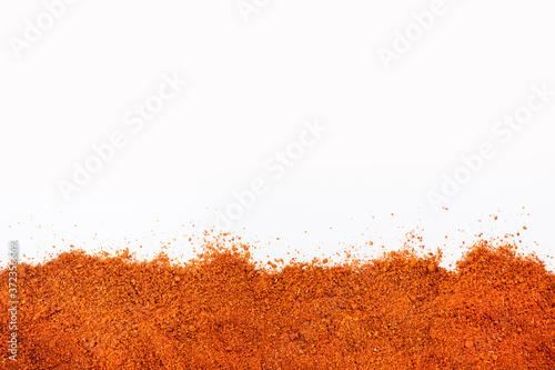 Foto Organic red paprika powder - Capsicum annuum