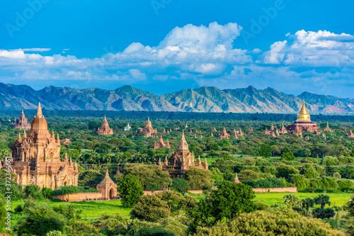 Fotografie, Obraz Pagoda landscape the Temples of Bagan(Pagan), Mandalay, Burma