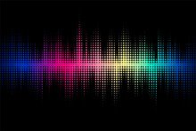 Sound Wave Design. Modern Musi...
