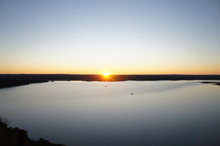 Lake Travis Sunset, Texas