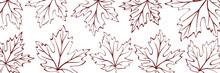 Autumn Background Of Leaves, V...