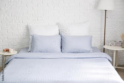 Tela Interior of modern stylish bedroom