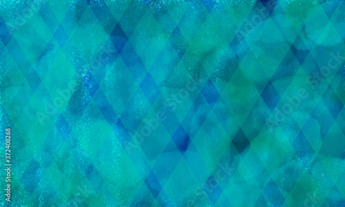 Leinwand Poster Abstract deep blue geometric background