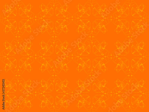 Seamless pattern design with floral background elements, beautiful ornaments, bl Fototapeta