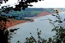 Sidmouth On The Jurassic Coast South East Devon England United Kingdom