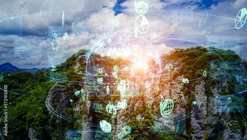 環境イメージ エコロジー SDGs Wallpaper Mural