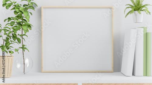 Fotografia, Obraz Square frame mock up
