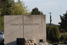 Trieste, Italy - April 22, 2017: The Foiba Di Basovizza, A National Monument