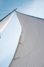 Sail On A Yacht In The Sea Aga...