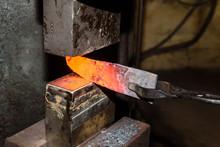 Forging Molten Metal. Making K...
