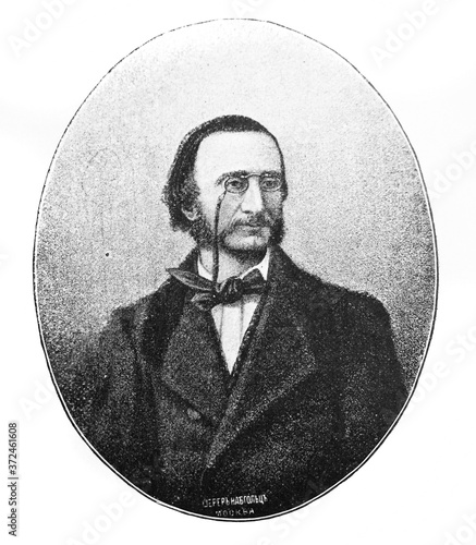 Cuadros en Lienzo Jacques Offenbach, was a German-born French composer in the old book Biographies of famous composers by A