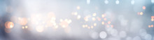 Golden Bokeh Background With Fog Abstract Golden Bokeh Background With Blur Effects And Sparks For A Glamorous Holiday Concept.