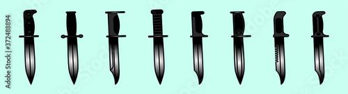 Fototapeta Bayonet Knives for different American rifles