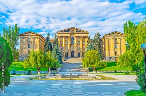 Stampa su Tela The Parliament of Armenia, Yerevan