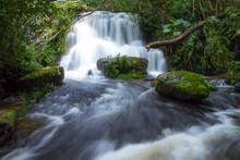 Mundang Waterfall At Phu Hin Rongkla National Park In Thailand